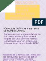 Formulacion y Nomenclatura de Los Compuestos Inorganicos