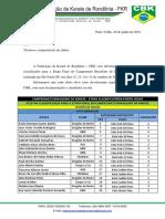 Atletas de Rondônia classificados