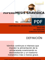 Hiper emesis gravidica