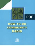 Louie Tabing, UNESCO - How to Do Community Radio