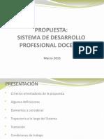 Propuesta Desarrollo Profesional Docente