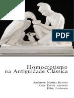 Homoerotismo Na Antiguidade Classica