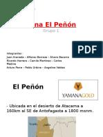 Mina El Peñón Ppt