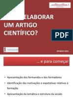 Artigo Científico - Diaporama