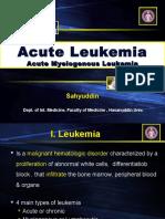 New Sahyuddin Leukemia