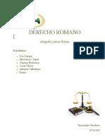 Derecho Romano de La Fundación a La Muerte de Justiniano