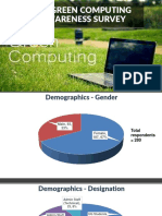 Itd Green Computing Awareness Survey May 2016 Report