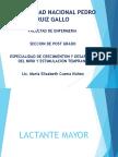 Diapositivas Lactante Mayor