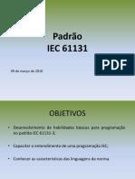 Aula 2 - Padrão Iec61131