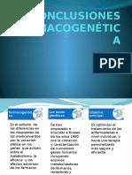 CONCLUSIONES FARMACOGENÉTICA.pptx