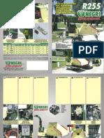 R255 Bio Shredder Leaflet