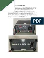 Generador de Señales UNAOHM EM 135N