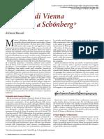 La Scuola Di Vienna Da Mozart a Schoenberg