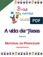 A vida de Jesus - Parte 2 - MATERIAL DO PROFESSOR.pdf
