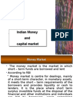 Indian Money market and Capital Market