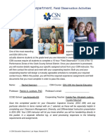 field experience-edu 203-3