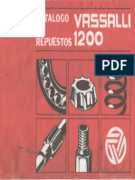 Catalogo de Repuestos VASSALLI 1200