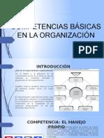 Competencias Básicas en La Organización