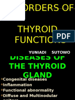 Disorder of Thyroid Functions