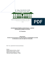 Relatório de Estatística Estudo Do Lançamento de Um Avião de Papel e a Probabilidade Envolvida Na Retirada de Uma Carta de Copas de Um Baralho. (1)
