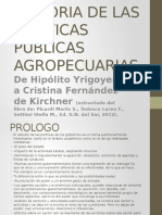 Historia de Las Politicas Publicas Agropecuarias