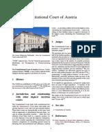 Constitutional Court of Austria
