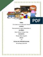EL NUMERO EN LA EDUCACIÓN INFANTIL.pdf