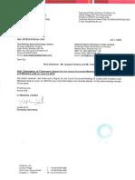 Chairman's Report [Company Update]