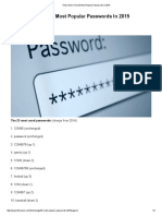 These Were the 25 Most Popular Passwords in 2015 _ IFLScience