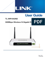 Tl-wr1042nd User Guide