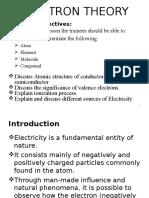 Electron Theory Electronology