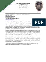 Press Release-Homicide #32