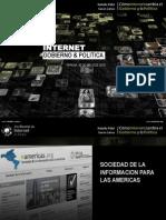Gobierno Electronico y Politica 2.0 - Presentación Parana - Lucas Lanza y Natalia Fidel