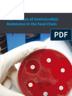 The Problem of Antimicrobial Resistance in the Food Chain