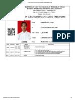 Kartu Peserta Ujian Saringan Masuk _ PMB ISBI Bandung