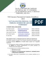 Reglamento Para La Confeccion de Resumenes de Carteles Cientificos (1)