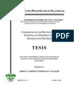 Coordinacion de Proteccion en Sistemas de Distribucion Con Generacion Distribuida