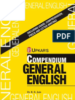 Compendium General English (Eng.-eng.) by Dr.B.B.jain