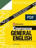 Compendium General English (Eng.-eng.) by Dr.B.B.jain