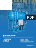 Industrial Steam Steam Flow Deaerator