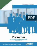 Presenter Manual ENG 2013 01