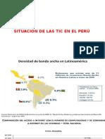 Situacion de Las Tic en El Perú