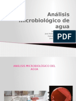 Analisis Microbiologico de Agua