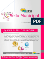 Sello Municipal ITE