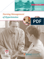 Nursing Management of Hypertension