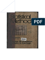 Statistical Methods by GEORGE W. SNEDECOR, 6th Edition