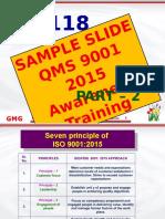 ISO 9001 Training Presentation