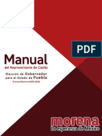 Manual para Representantes de Casilla de Morena