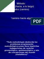metodologia. paradigmas