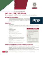 BV Iso 9001 Certification